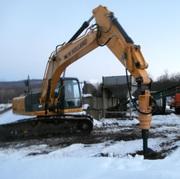 Буровое оборудование DRD-20 (Англия) на экскаваторы массой 11-45 тонн.