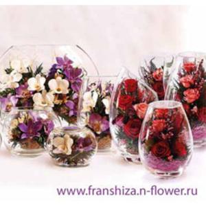 Готовый бизнес (франшиза) по продаже живых цветов в вакууме