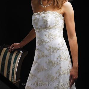 Продам силуэтное НОВОЕ свадебное платье недорого