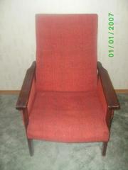 Продам 2 кресла бордового цвета