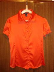 Продаётся женская шёлковая рубашка