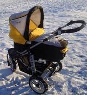 Продаётся детская коляска 2 в 1 Oregon GTS ( Германия)